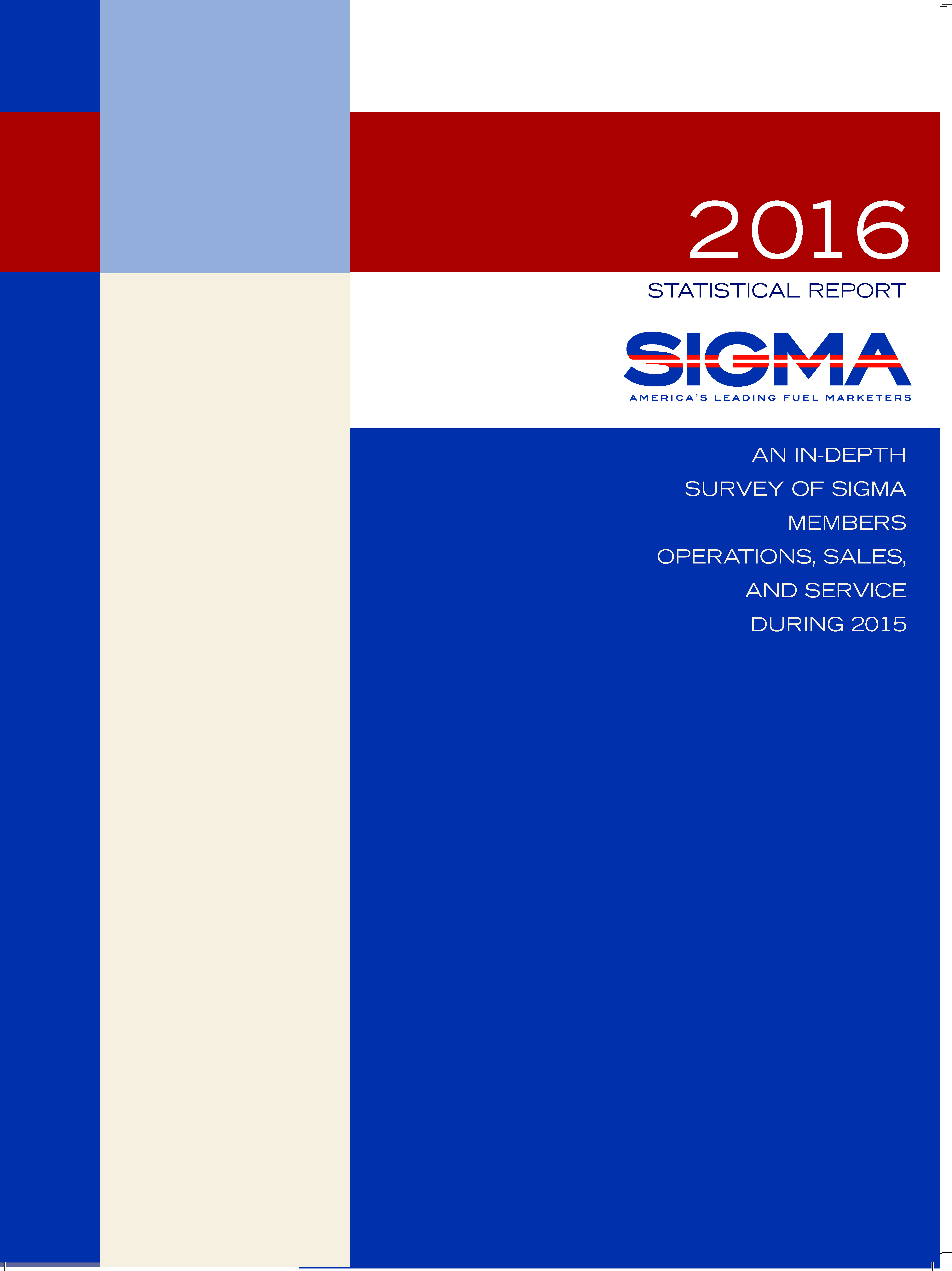 sigma statistical report click on the image below to open sigma s 2016 statistical report cover for website